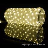 10m136LED impermeabili scaldano l'indicatore luminoso bianco della stringa del tubo per la decorazione della casa/festa/natale