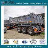 3 Wellen-Lastkraftwagen- mit Kippvorrichtungschlußteil-hydraulischer Kipper-halb Schlussteil für Verkauf