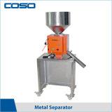La parte superior de la máquina del separador de detector de metales de venta