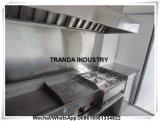 이동할 수 있는 대중음식점 트럭을 서 있는 Tranda 최고 디자인