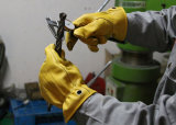 Super Soft Goatskin Anti-Abrasion Механические узлы и агрегаты рабочие перчатки