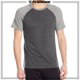 Kundenspezifische Qualitäts-Mann-Baumwolle 100% gedrucktes T-Shirt für Sport