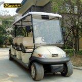 四輪駆動の低速電気ゴルフ車