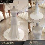 袖が付いている2017の方法様式の人魚のウェディングドレスの花嫁衣装