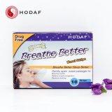 試供品停止いびきをかく鼻のストリップによっては右の鼻のストリップが呼吸する