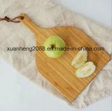 Placas de estaca de bambu naturais