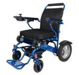 sedia a rotelle pieghevole leggera della batteria di litio di 24V 12ah per gli handicappati