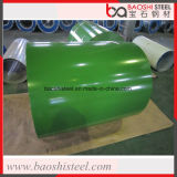 Bobine galvanisée enduite d'une première couche de peinture pour le réservoir de stockage de pétrole et la feuille de toiture