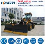 Затяжелитель колеса малого миниого заграждения Jcb Ce Qingzhou Zl16 EPA телескопичный аграрный
