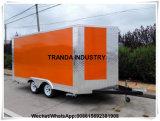 Cabine van het Voertuig van de Keuken van de Restauratiewagen Donutscatering van de Sushi van Nieuw Zeeland de Snack Bevroren