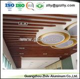 Banheira de venda de material de construção com teto de defletor de alumínio decorativas ISO9001