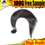 最もよい価格は私を毛のバージンのポニーテールの毛の拡張言う