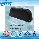 tipo batería de la botella de agua de 48V 11.6ah de ion de litio de la bici de E