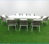 食事のための喫茶店か庭のレストランの家具