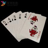 Juego de tarjeta personalizado servicio impreso del solitario de las tarjetas que juegan