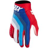 Sports Racing Airline Draftr Mens Mx Offroad gants rouge