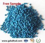 Blaue Farbe Masterbatch für Laminierung-Gussteil-Plastik