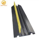 2 canal Flooring Protecteur de câble sur le fil électrique de la rampe, couvercle en plastique