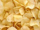 Grüne organische entwässerte getrocknete Kartoffelflocken
