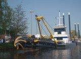 Draga da areia da sução do cortador/draga/máquina/barco/embarcação de dragagem do navio