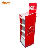 Papierausstellungsstand-Punkt der Kauf-Pappbildschirmanzeige-Zahnstange