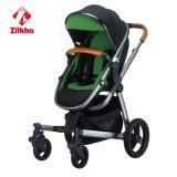 Cochecito de bebé con el marco y Carrycot regular del asiento y regular