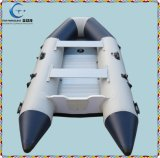 Commerce de gros bateaux à rames Bateau Bateau de pêche gonflable en caoutchouc de la Chine