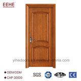 Porta da saída de emergência com vidro porta de madeira Rated do incêndio de 1 hora com núcleo da porta de incêndio