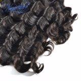 Оптовые дешевые индийские свободные человеческие волосы девственницы волны в большом части