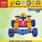 Automobile di plastica del giocattolo di puzzle 3D dell'ABS del capretto educativo