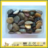 庭のための自然で黒くか黄色または白いですまたは混合された川の小石の砂利か押しつぶされたか玉石の石か舗装するか、または広場またはホテルまたは美化するか、または装飾