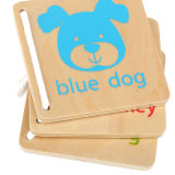 普及した木板動物デザイン手仕事の子供の教育おもちゃの本