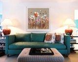 Страны Северной Европы ручной работы стиле Canvas стены искусства цветок картины маслом для дома украшения