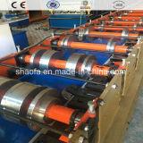 Qualitäts-hydraulisch angetriebene Dach-Blatt-Rolle, die Maschine bildet