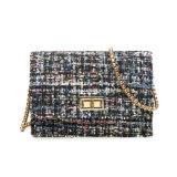 毛織の布長いストラップの女の子のための小さい単一のショルダー・バッグ