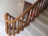 Escadaria americana da folhosa do carvalho do jogo inteiro para a HOME interior
