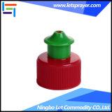 24/410 couvercle à visser coloré de poussée de traction pour la bouteille