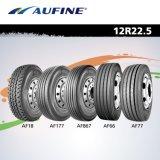 11r22.5、11r24.5、295/75r22.5および285/75r24.5のAufineのブランドのトラックのタイヤ