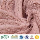 Polyester-Gewebe-Plüsch 100% für Haustier-Nest