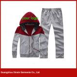 Fournisseur fait sur commande d'usure de vêtements de sport de qualité de coton de broderie (T70)