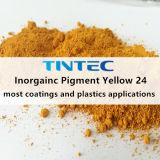 صبغ غيرعضويّ أصفر 24 (يتماثل [تومتك] وحديديّة) لأنّ بلاستيك