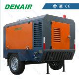 100 compresores de aire movibles de motor diesel de la PSI con precio barato