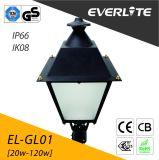 Luz do jardim do diodo emissor de luz de Everlite 30W com IP66 Ik08