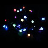 Quirlande électrique de mini DEL de Noël de l'ampoule de vacances chaîne de caractères de décoration