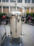Het roestvrij staal poetste de DuplexFilter van de Zak voor Chemisch product en de Filtratie van de Olie op