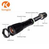 Ce RoHS утверждения высокого просвета масштабируемые лампа для использования вне помещений водонепроницаемый T6 фонарик