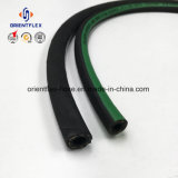 Alto límite elástico de goma reforzado con fibra de la manguera hidráulica (SAE100R6)