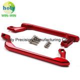 Herstellungs-kundenspezifische Präzision CNC-maschinell bearbeitenhandlauf für Motorrad-Teile