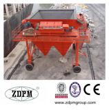 Mechanischer beweglicher Zufuhrbehälter für Kanal