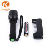 Ordinateur portable ultra-brillant de lumière LED Lampe torche rechargeable en aluminium multifonction
